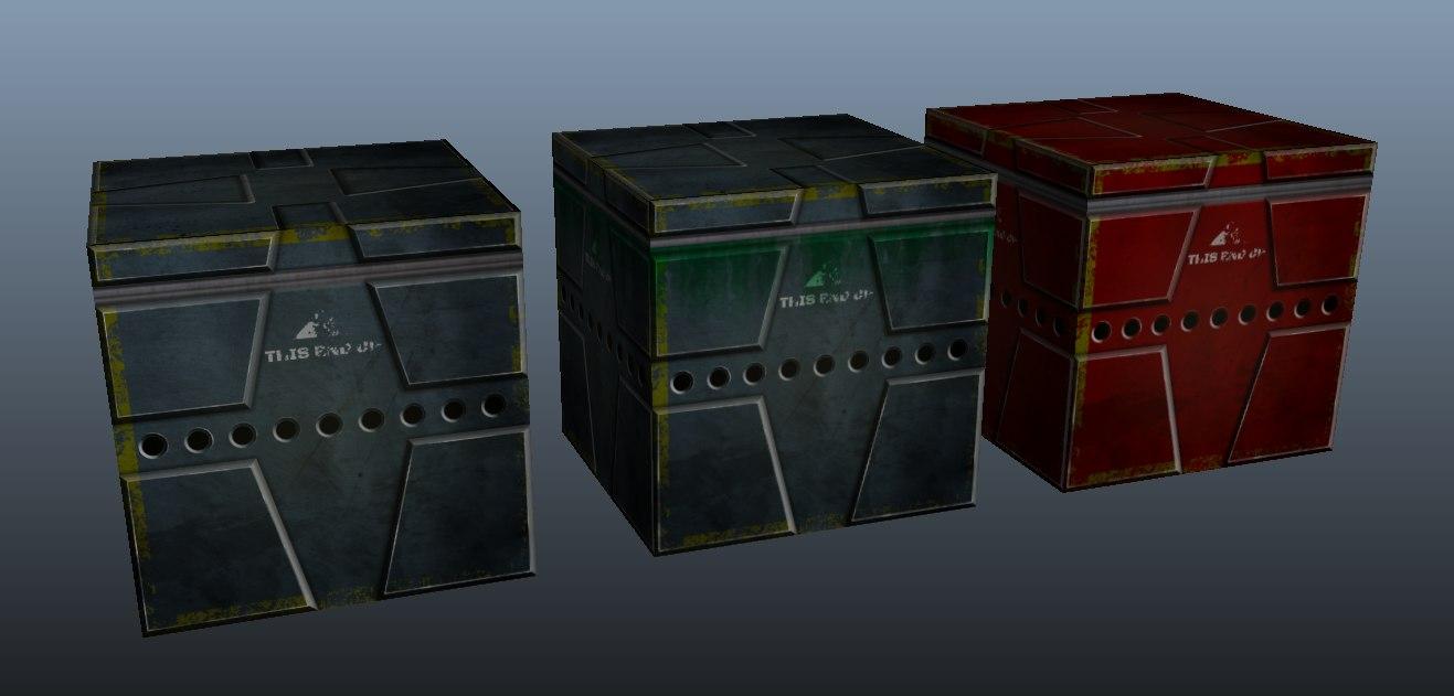 crate pack 3d x