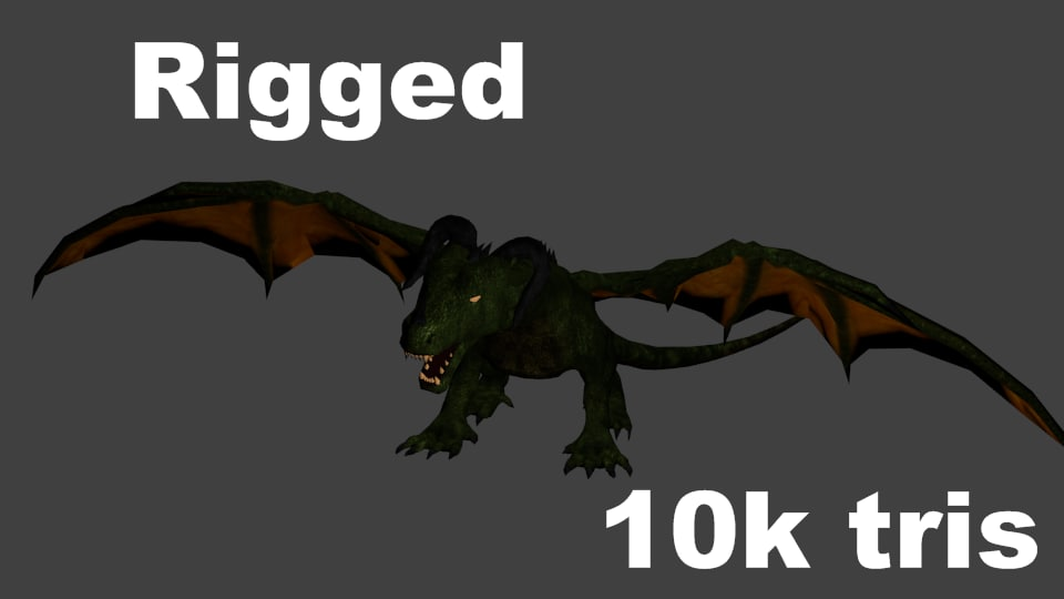 3d dragon fantasy