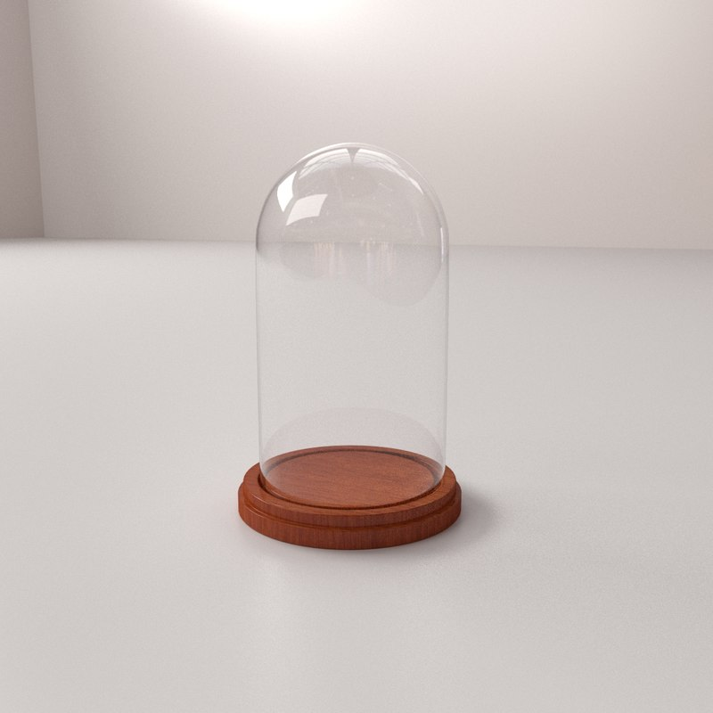 3ds glass dome
