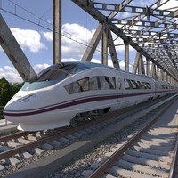 high-speed electric train siemens 3ds