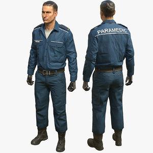 vr paramedic 3d max