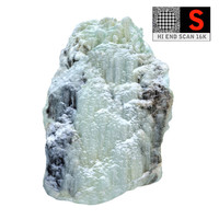 3d icefall phenomenon nature 6 model