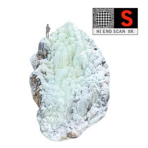 3d icefall phenomenon nature