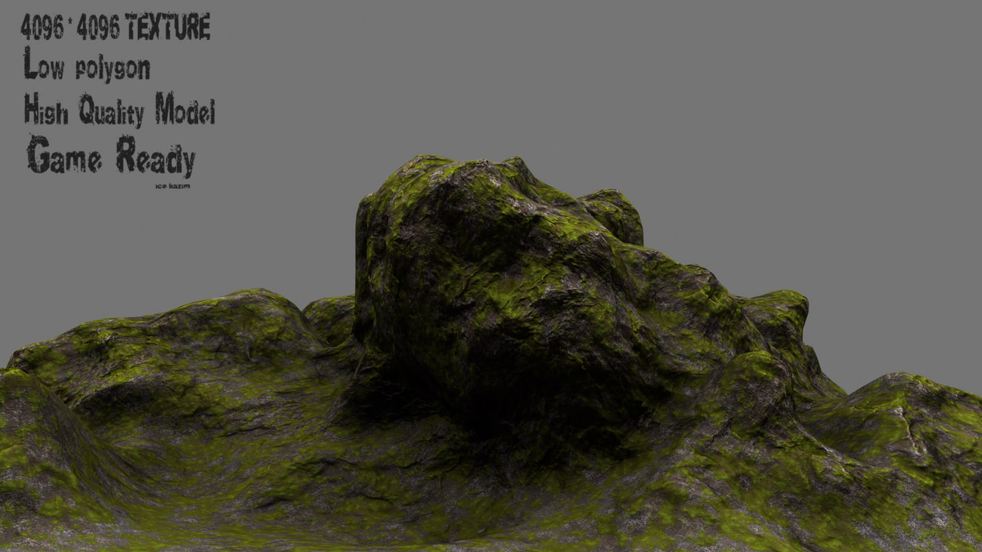 3d rock 1