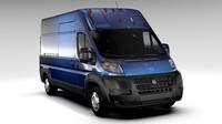 3d ram promaster cargo 3500 model