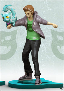manga figure 3d max