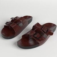 3d sandals shoes 2 model