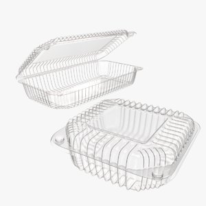 3d plastic food containers