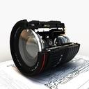 Optical Stabilizer lens 3D models