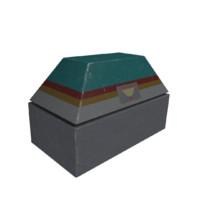 sci-fi container obj