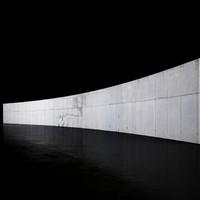 Huge concrete wall texture