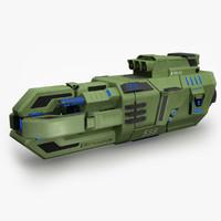3d model of trn x3