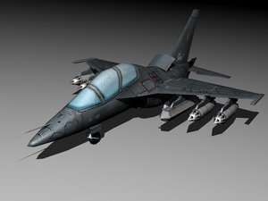 russian aircraft 3d model