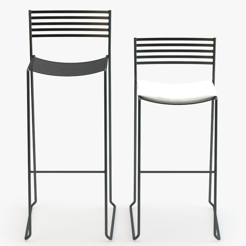 emu aero stool chair obj