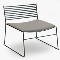 emu aero lounge chair max