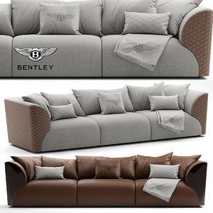 winston sofa 3d max