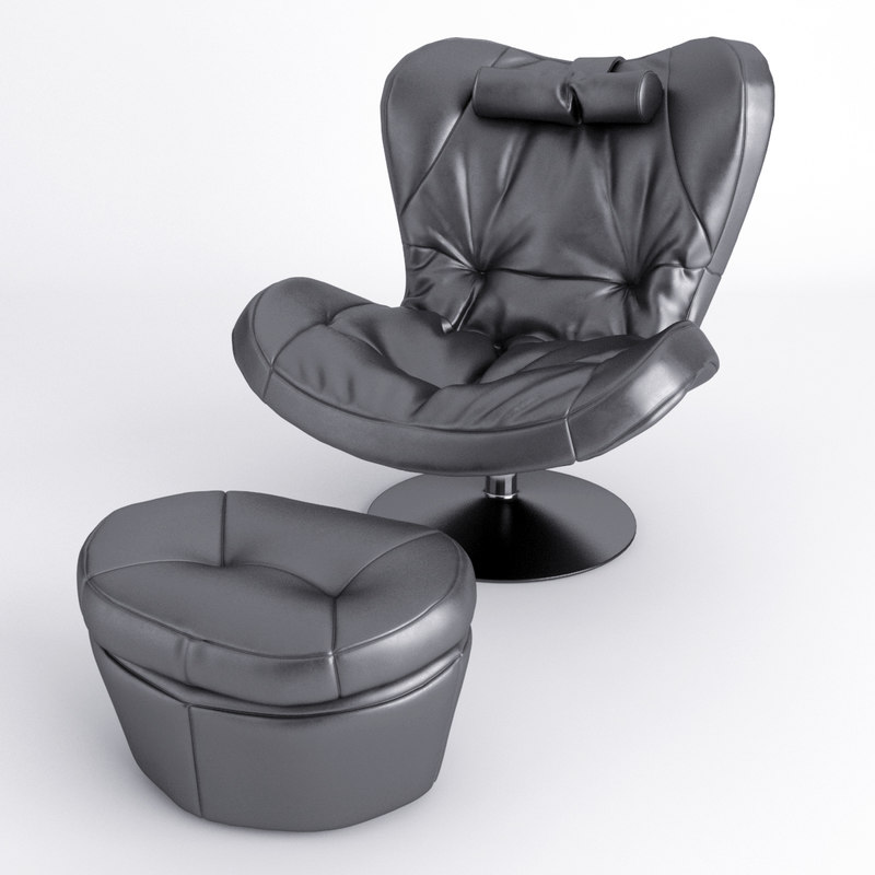 3d chair armchair sou model