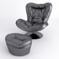 3d chair armchair sou model