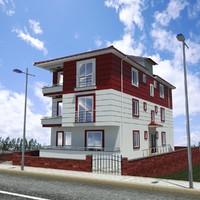 3-storey building