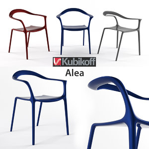 kubikoff alea chair design max