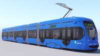 tmk 2200 tram 3d max