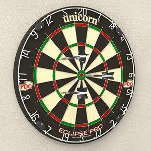 3d dart model
