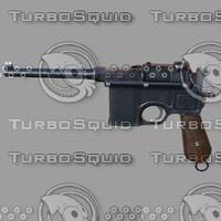 3d model mauser c96