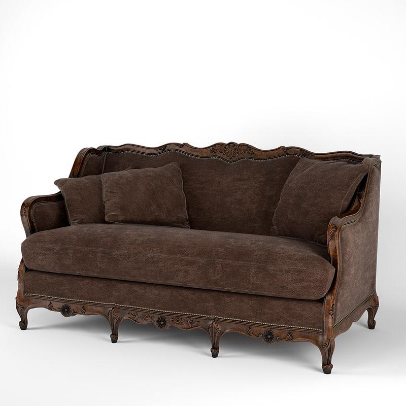 ralph lauren sofa 653-01 3d model