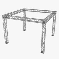 3d truss model