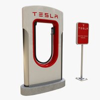 Tesla Electric Vehicle Charger - Supercharger
