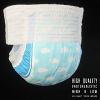 3d diaper modo model