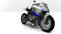 3d model motorcycle