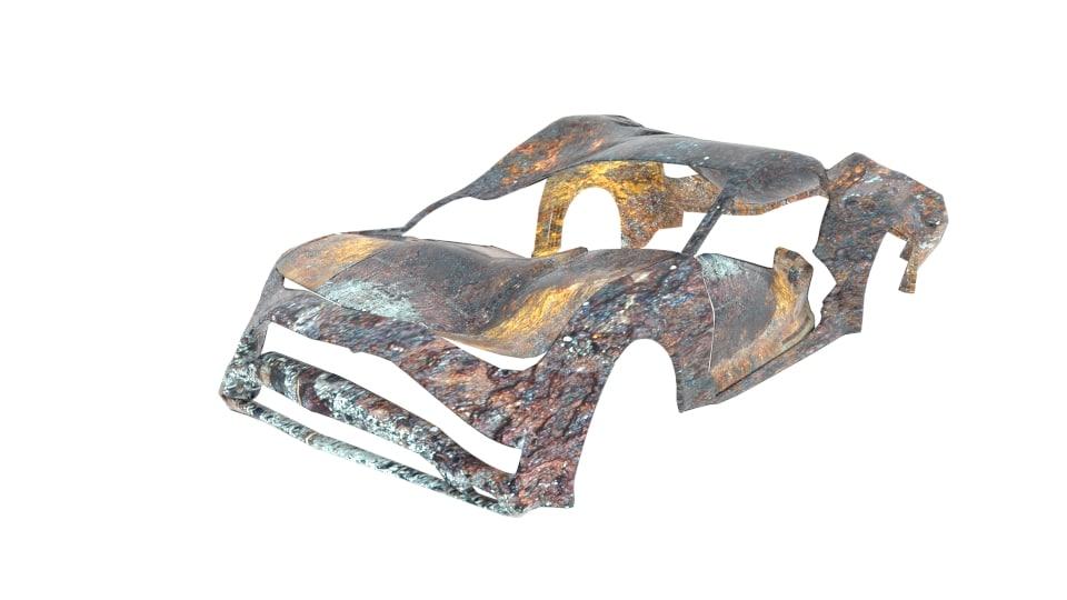 chevrolet camaro wreck 3ds