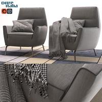ditre vela italia chair 3d max