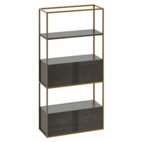 shelf bookshelf 3d model