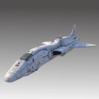 space escort cruiser 3ds