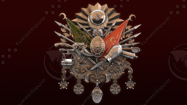 3d model ottoman empire army