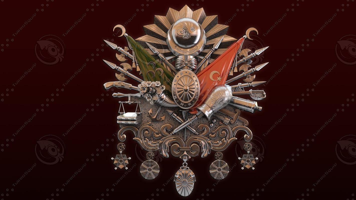 3d model ottoman empire army