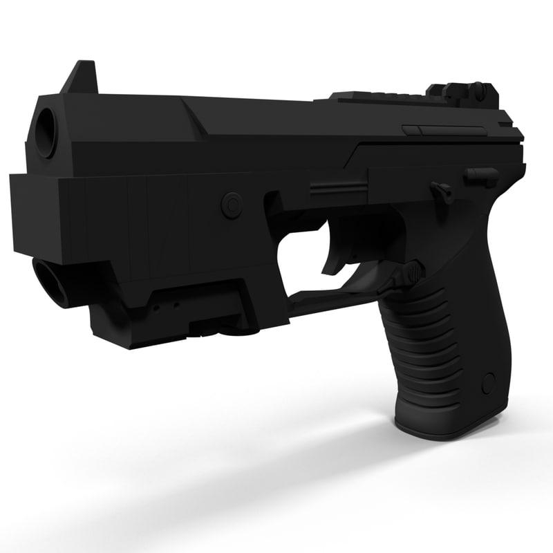3d model gun syndicate