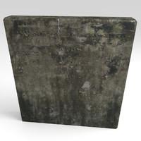 3ds tomb tombstone stone