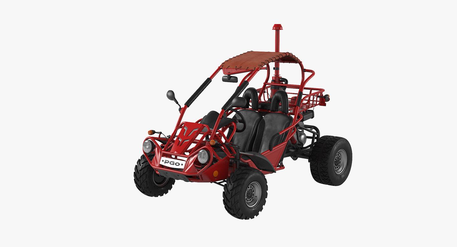 3d pgo bugrider 200 buggy