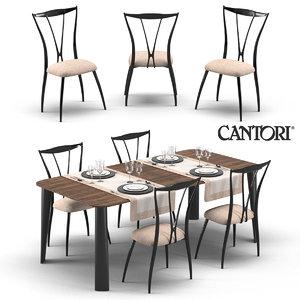 max chair table cantori