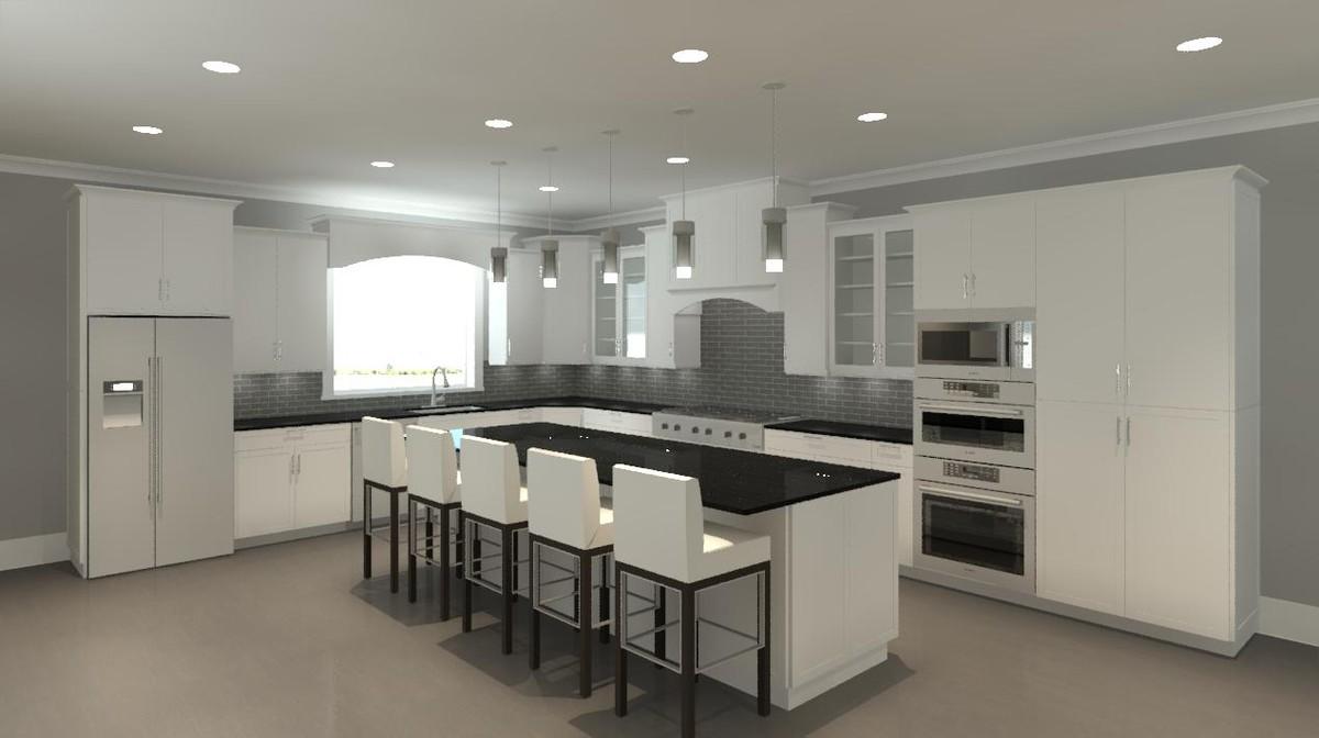 revit cabinets cabinetry craftsman 3d model