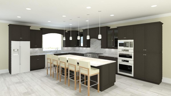 3d model revit cabinets cabinetry styles