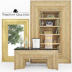 timothy oulton set 3d max