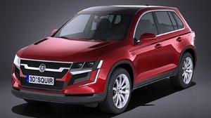 generic suv crossover 3d c4d