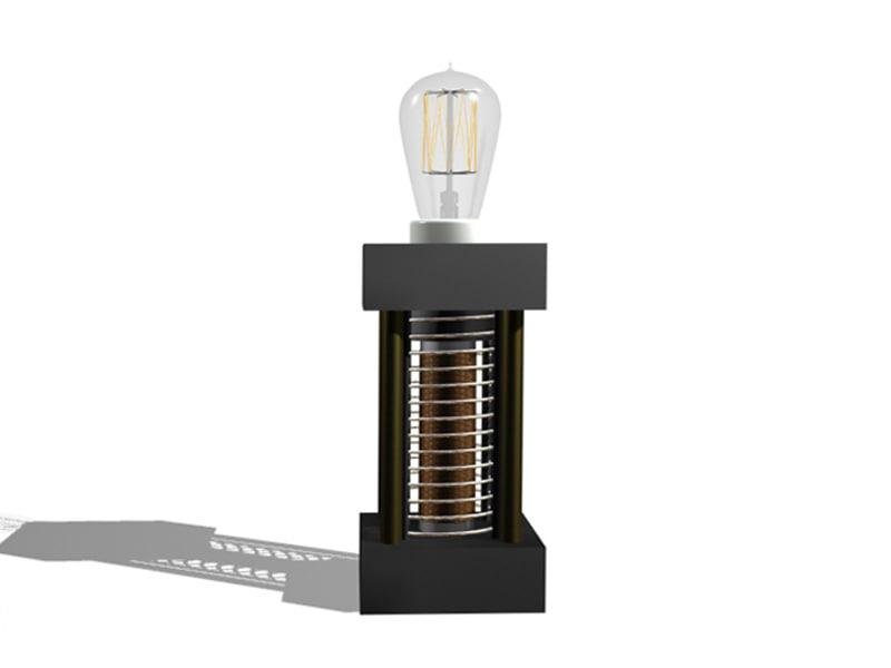 max solenoid table lamp