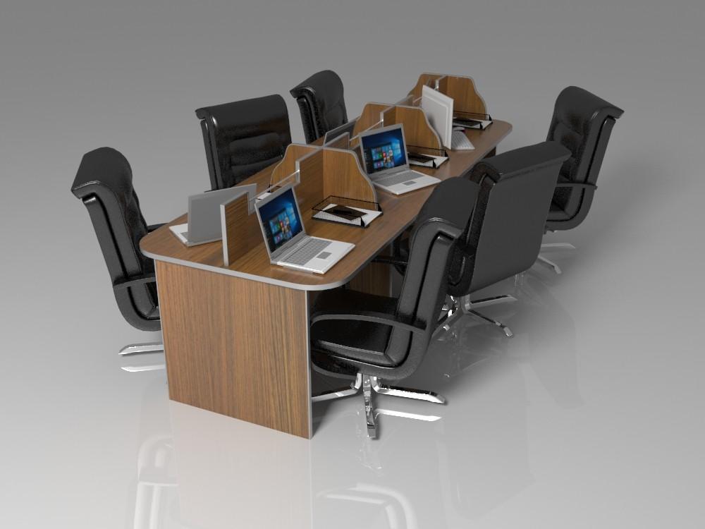 office multi 3d model