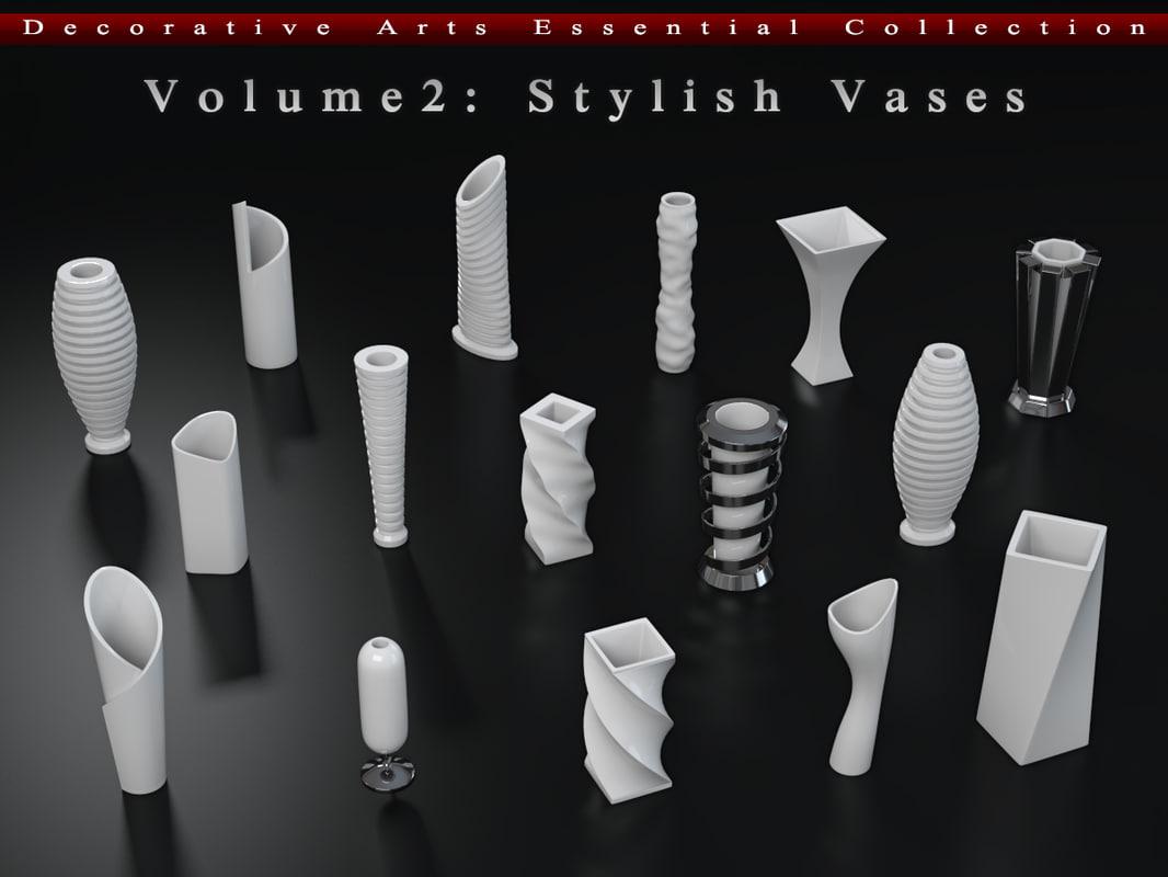 stylish vases max