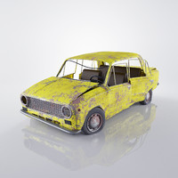 VAZ 2101 Rusty